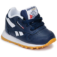 Topánky Chlapci Nízke tenisky Reebok Classic CLASSIC LEATHER Modrá / Biela