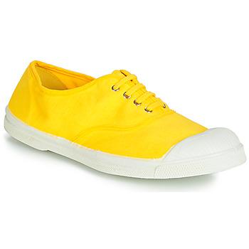 Topánky Ženy Nízke tenisky Bensimon TENNIS LACETS Žltá citrónová