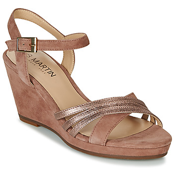 Topánky Ženy Sandále JB Martin QUOLIDAYS Ťavia hnedá
