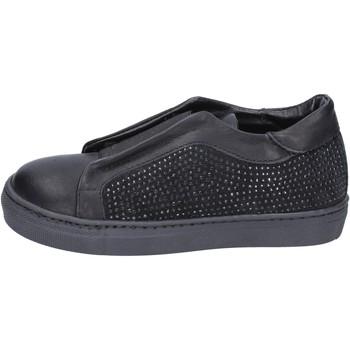 Topánky Dievčatá Slip-on Holalà BT374 Čierna