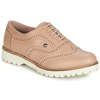 Topánky Ženy Derbie LPB Shoes GISELE Svetlá púdrová