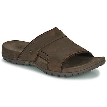 Topánky Muži Šľapky Merrell SANDSPUR LEE SLIDE Hnedá