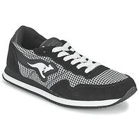 Topánky Ženy Nízke tenisky Kangaroos INVADER TWEED šedá / čierna