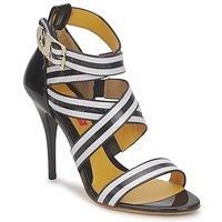 Topánky Ženy Sandále Charles Jourdan BARBARA čierna / Biela