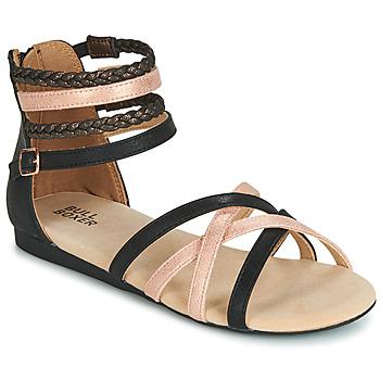 Topánky Dievčatá Sandále Bullboxer AED009 Čierna