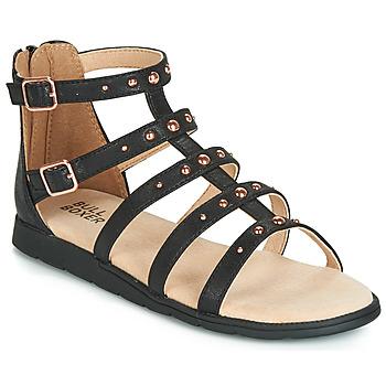 Topánky Dievčatá Sandále Bullboxer AGG021 Čierna