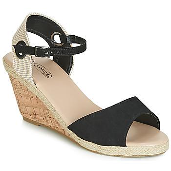 Topánky Ženy Sandále Spot on F2265 Čierna