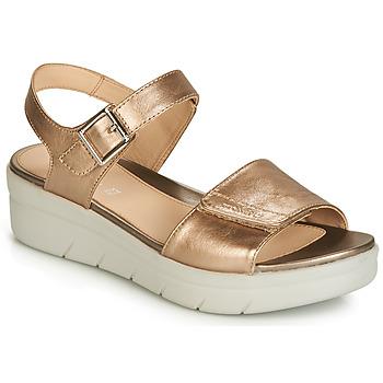 Topánky Ženy Sandále Stonefly AQUA III 2 LAMINATED Zlatá