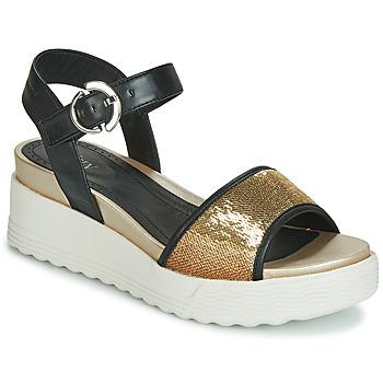 Topánky Ženy Sandále Stonefly PARKY 3 NAPPA/PAILETTES Čierna