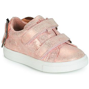 Topánky Dievčatá Nízke tenisky Acebo's BAMBU Ružová