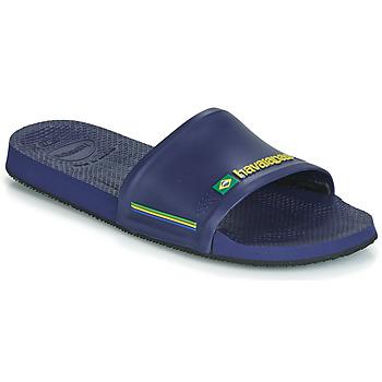Topánky športové šľapky Havaianas SLIDE BRASIL Modrá