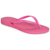 Topánky Ženy Žabky Havaianas SLIM Ružová