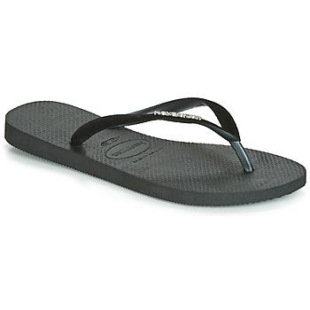Topánky Ženy Žabky Havaianas SLIM VELVET Čierna