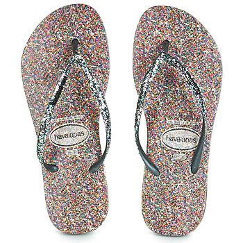 Topánky Ženy Žabky Havaianas SLIM CARNAVAL Čierna
