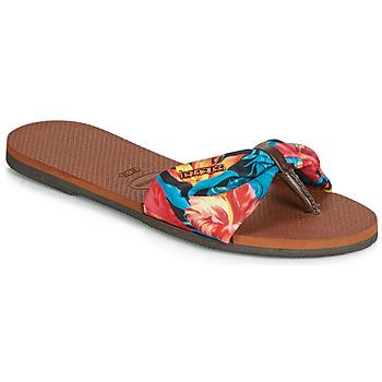 Topánky Ženy Žabky Havaianas YOU ST TROPEZ Kvetovaná