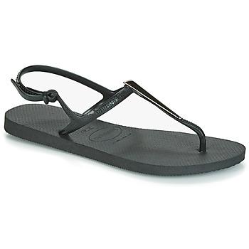 Topánky Ženy Sandále Havaianas FREEDOM MAXI Čierna