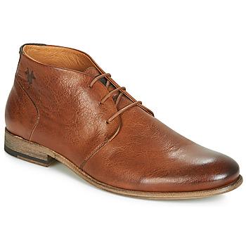 Topánky Muži Polokozačky Kost SARRE 1 Koňaková