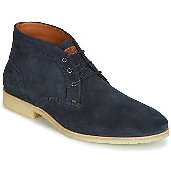 Topánky Muži Polokozačky Kost CALYPSO 59 Námornícka modrá