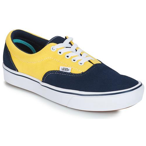 6c9981ecd Vans COMFYCUSH ERA Modrá / Žltá - Bezplatné doručenie | Spartoo.sk ...