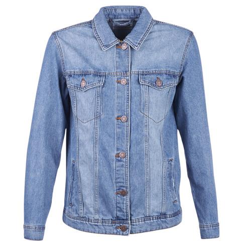 Oblečenie Ženy Džínsové bundy Noisy May NMOLE Modrá / Medium