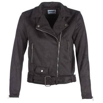 Oblečenie Ženy Kožené bundy a syntetické bundy Noisy May NMCHRIZZY Čierna