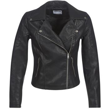 Oblečenie Ženy Kožené bundy a syntetické bundy Noisy May NMREBEL Čierna