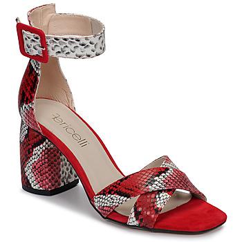 Topánky Ženy Sandále Fericelli JEZI Červená