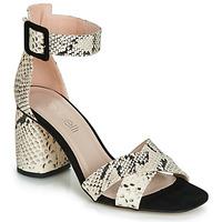 Topánky Ženy Sandále Fericelli JEZI Biela / Čierna