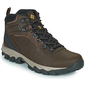 Topánky Muži Turistická obuv Columbia NEWTON RIDGE PLUS II WATERPROOF Hnedá
