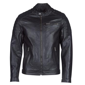 Oblečenie Muži Kožené bundy a syntetické bundy Jack & Jones JCOROCKY Čierna