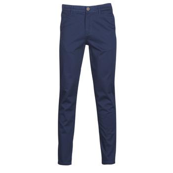 Oblečenie Muži Nohavice Chinos a Carrot Jack & Jones JJIMARCO Námornícka modrá