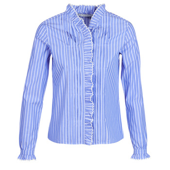 Oblečenie Ženy Košele a blúzky Maison Scotch LONG SLEEVES SHIRT Modrá