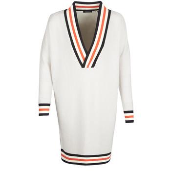 Oblečenie Ženy Svetre Maison Scotch WHITE LONG SLEEVES Biela / Krémová