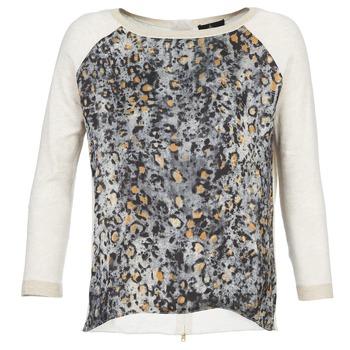 Oblečenie Ženy Svetre One Step TWIST Krémová / šedá