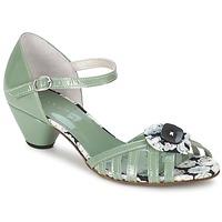 Topánky Ženy Sandále Mosquitos AMICALE Zelená / Morská modrá