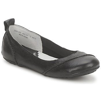 Topánky Ženy Balerínky a babies Hush puppies JANESSA Čierna