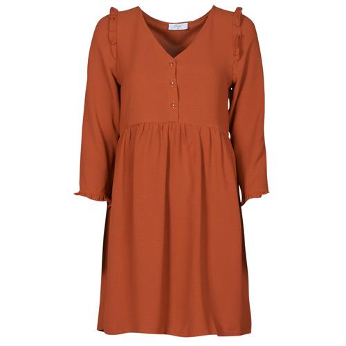 Oblečenie Ženy Krátke šaty Betty London JABALA Hnedá