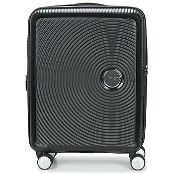 Tašky Pevné cestovné kufre American Tourister SOUNDBOX 55CM 4R Čierna