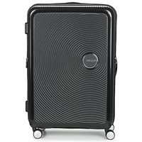 Tašky Pevné cestovné kufre American Tourister SOUNDBOX 77CM 4R Čierna