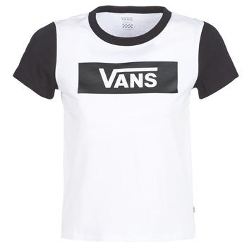 Oblečenie Ženy Tričká s krátkym rukávom Vans V TANGLE RANGE RINGER Biela