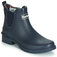 Topánky Ženy Čižmy do dažďa Barbour WILTON Modrá