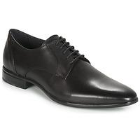 Topánky Muži Derbie Carlington EMRONED Čierna