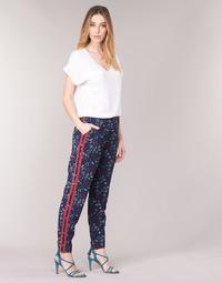 Oblečenie Ženy Padavé nohavice Kaporal BABY Námornícka modrá / Viacfarebná
