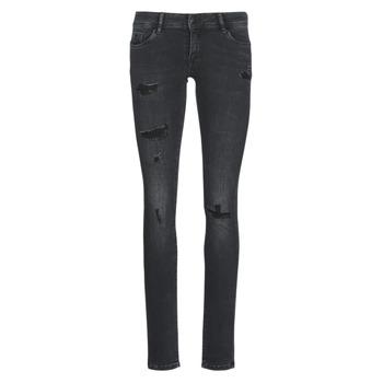 Oblečenie Ženy Džínsy Slim Kaporal LOKA Čierna