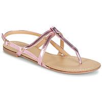 Topánky Ženy Sandále Moony Mood JEKERINE Ružová / Metalická