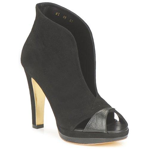 Topánky Ženy Nízke čižmy Gaspard Yurkievich A9-VAR7 Čierna