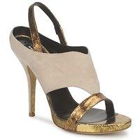 Topánky Ženy Sandále Gaspard Yurkievich T4 VAR8 Béžová / Zlatá