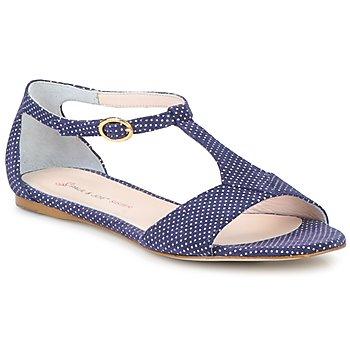 Topánky Ženy Sandále Paul & Joe Sister PERRY Námornícka modrá / Biela