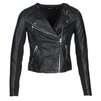 Oblečenie Ženy Kožené bundy a syntetické bundy Vero Moda VMRIA FAV Čierna