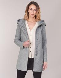 Oblečenie Ženy Kabáty Vero Moda VMVERODONA Šedá